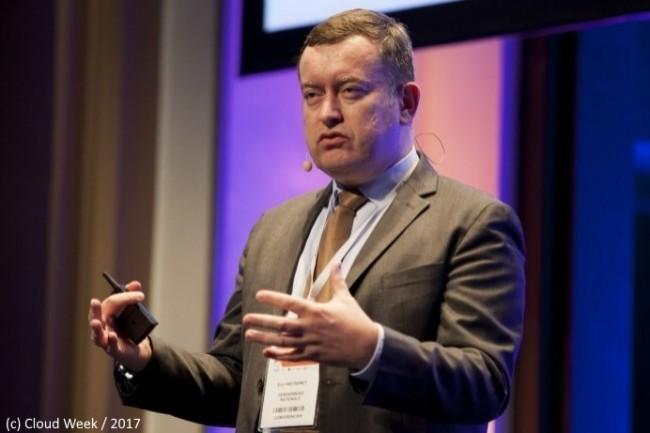 Eric Freyssinet �tait jusqu�� pr�sent chef du p�le national de lutte contre les cybermenaces (ici sur la Cloud Week en 2017).
