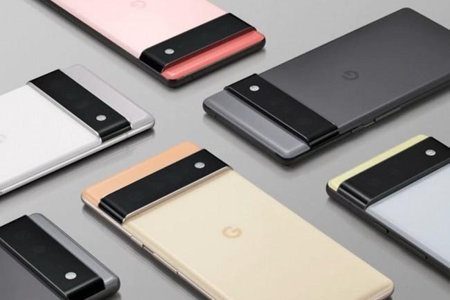 Google dévoile des caractéristiques de ses Pixel 6 et 6 Pro