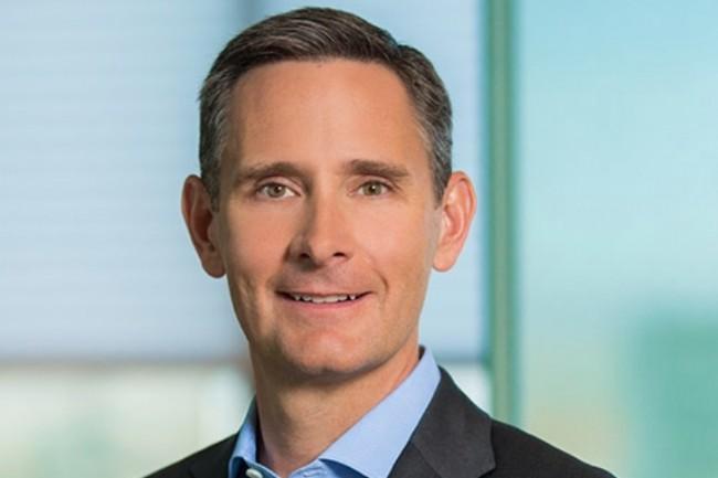 Matt Murphy, CEO de Marvell, pr�sente l'architecture d�velopp�e par Innovium comme une plateforme �prouv�e sur le march� de la commutation pour datacenters. (Cr�dit : Marvell)