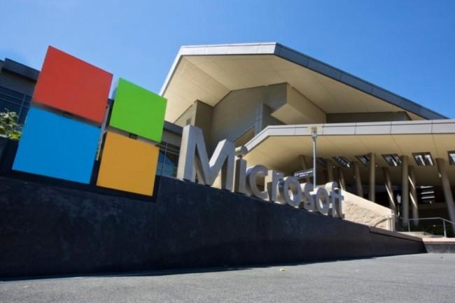Microsoft a averti ses employ�s qu�il leur demandera une preuve de vaccination � partir de septembre prochain pour entrer dans l�un de ses b�timents de bureaux. (Cr�dit : Microsoft)