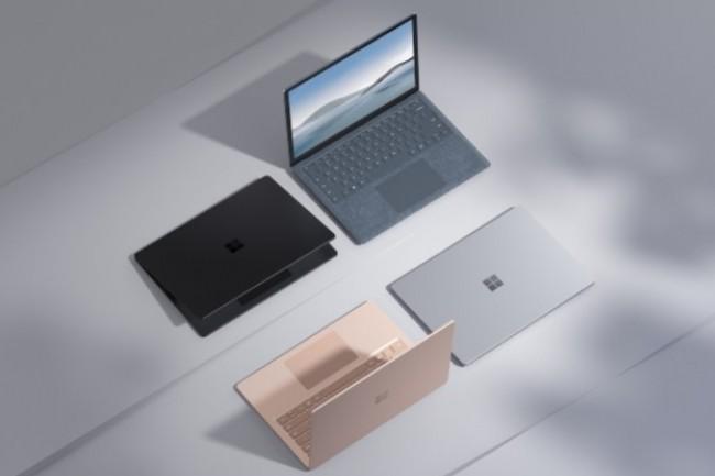 Microsoft n'a toujours pas dit quels composants affectaient l'approvisionnement des appareils Surface, alors d'autres fournisseurs ont clairement expliqu� qu'ils �taient dans l'impossibilit� d'obtenir certaines puces. Cr�dit photo : Microsoft