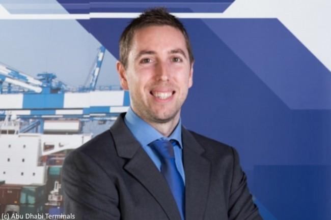 Arturo Garc�a, chief automation officer d�Abu Dhabi Terminals, attend de l�IA une am�lioration de la cha�ne logistique avec des r�percussions mondiales.