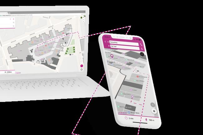 ServiceNow pr�voit d'int�grer nativement les solutions de Mapwize dans sa suite Workplace Service Delivery. (Cr�dit : Mapwize)