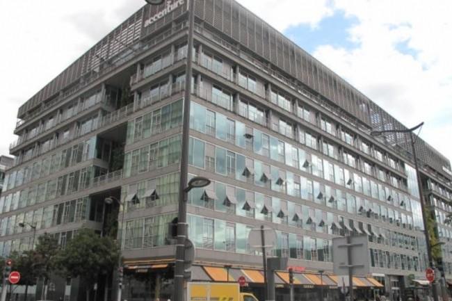 L'attaque visant Accenture (ci-dessus le si�ge social parisien) n'aurait pas eu d'impact sur ses clients. (Cr�dit photo : Accenture)