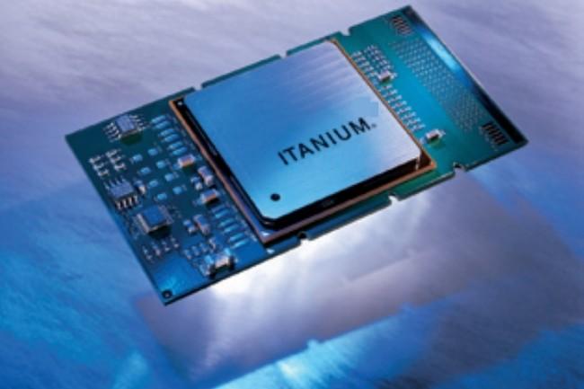 Le processeur Itanium n'�tait pas n� sous de bons auspices... (Cr�dit photo : Intel)