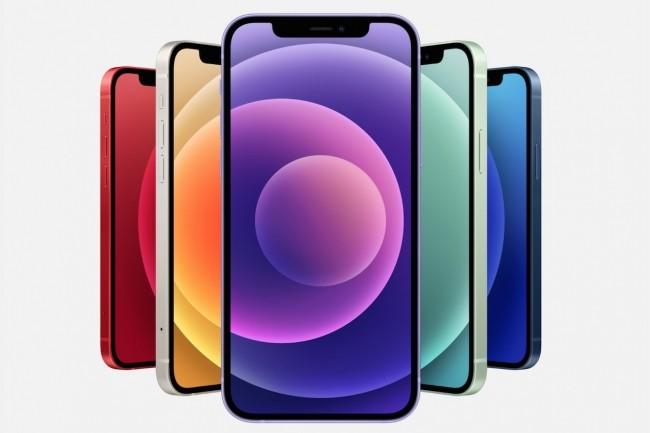 L'iPhone 12 est disponible en quatre versions : iPhone 12 mini, 12, 12 Pro et iPhone 12 Pro Max. (Cr�dit : Apple)