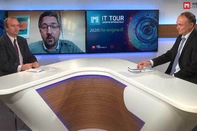 Beno�t Salingue, DSI de Standard Industrie International et membre du bureau du DSI Gun est intervenu sur l'IT Tour Hauts de France 2020. (cr�dit : LMI)