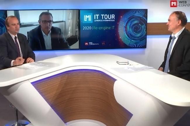 Laurent Audoin, directeur g�n�ral de la filiale informatique du Groupe Leclerc, Isocel, a t�moign� lors de l'IT Tour Nouvelle Aquitaine 2020. (cr�dit : LMI)