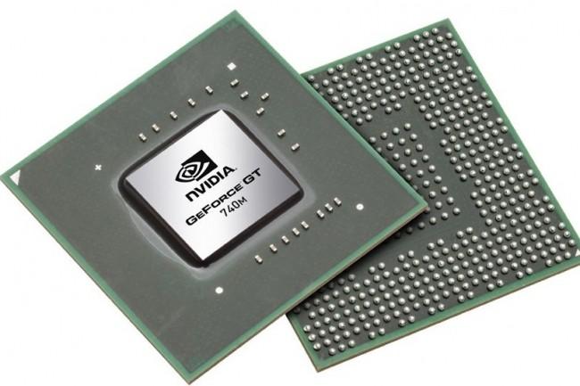 Des syst�mes graphiques � base de GPU GT, tel que NVIDIA GeForce GTX 740M, sont potentiellement cibl�s par des codes d'exploit. (cr�dit : Nvidia)