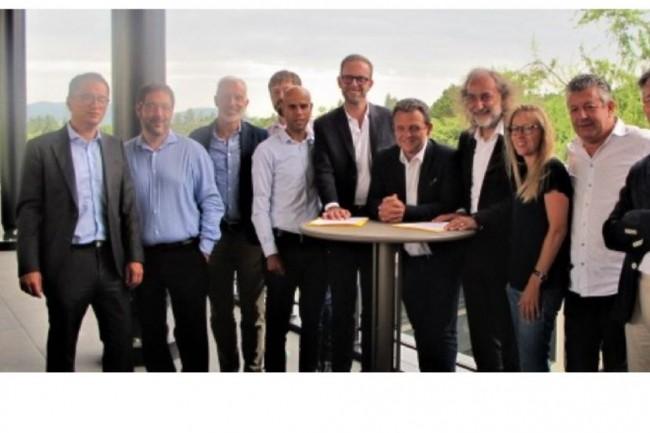 Mercredi 1er septembre, Cisco et  Nxo ont annonc� leur collaboration avec le campus technologique Swarm situ� � Charbonni�res-les-Bains. (Cr�dit photo: Cisco/Nxo)