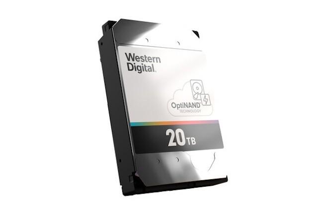 Avec la famille de disques durs OptiNAND, Western Digital veut acc�l�rer l'acc�s aux donn�es conserv�es sur ses lecteurs. (Cr�dit Western Digital)