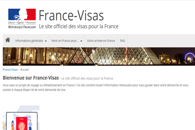 Le site France-Visas a �t� victime d'une cyberattaque le 10 ao�t dernier avec un vol de donn�es personnelles. (Cr�dit Photo: DR)