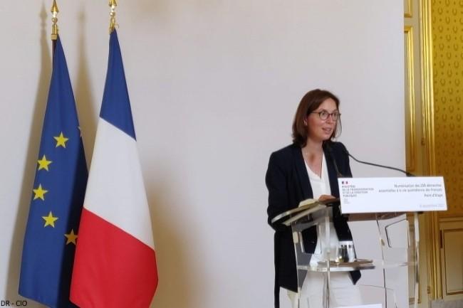 Am�lie de Montchalin, ministre de la Transformation et de la Fonction publiques : � La strat�gie du gouvernement est d�aller vers un num�rique choisi, et non subi. �