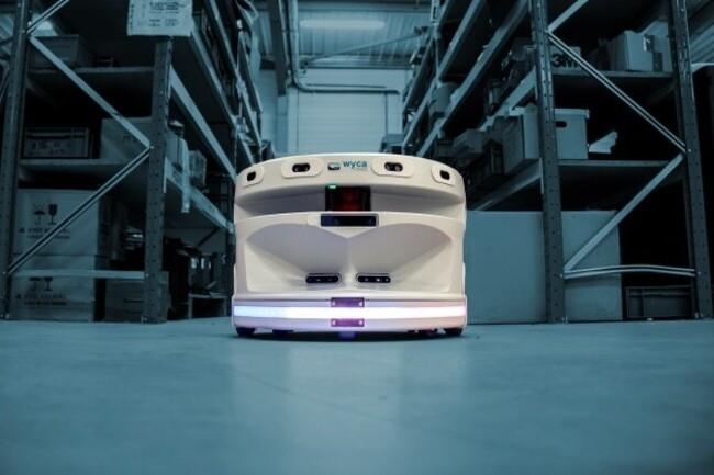 Wyca Robotics vient de lever 1,6 million d�euros et compte doubler ses effectifs rapidement. (Cr�dit : Wyca Robotics)