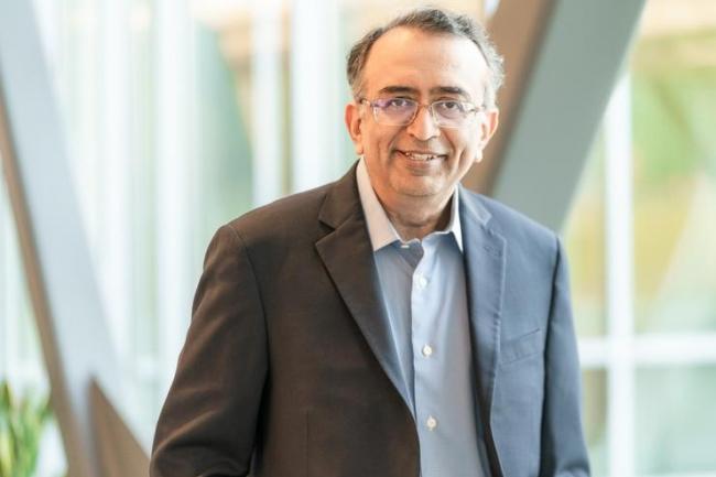 Arriv� au poste de CEO de VMware en juin dernier, Raghu�Raghuram�s'est attel� � la scission du groupe avec Dell. (Cr�dit VMware)