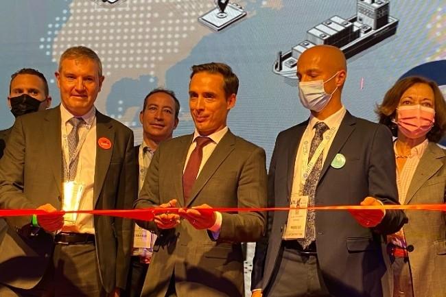 Le ministre d�l�gu� aux Transports, Jean-Baptiste Djebbari, a inaugur� la SITL (Photo E.Delsol)