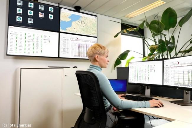 Baldewijn Westerbeek, directeur du num�rique et de l�informatique de TotalEnergies Gas Mobility, constate que le projet est au coeur de la strat�gie de l�entreprise.