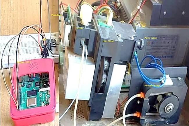 Le kit de test sanguin � base de Raspberry Pi permet d'avoir des laboratoires mobiles dans des zones rurales en Inde. (Cr�dit Photo: DR)