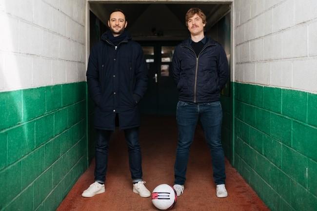 Les deux co-fondateurs de Sorare, Nicolas Julia (DG) et Adrien Montfort (directeur technique), ont connu une ascension fulgurante depuis le lancement de leur start-up de jeu en 2019. (Cr�dit : Sorare)