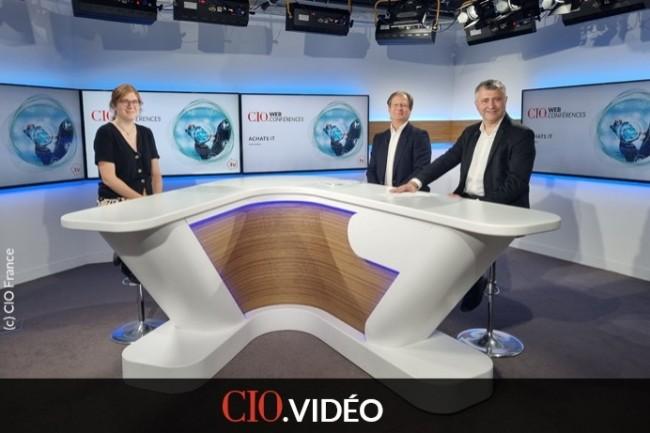 De gauche � droite : Aur�lie Chand�ze (r�dactrice en chef adjointe de CIO), Bertrand Lemaire (r�dacteur en chef de CIO) et Jacques Cheminat (r�dacteur en chef du Monde Informatique).
