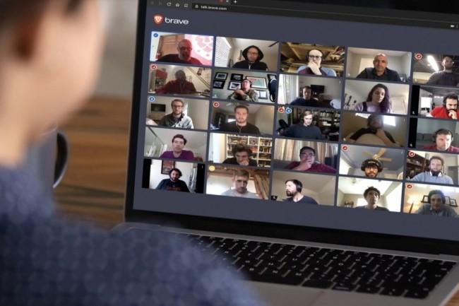 Brave propose les appels visio one-to-one gratuitement. (cr�dit : Brave)