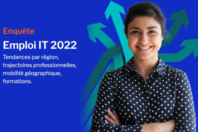 Pour accompagner le lancement de l'IT Tour 2021, nous vous invitons � r�pondre � quelques questions sur l'emploi et la mobilit� en r�gions. (cr�dit : D.R.)