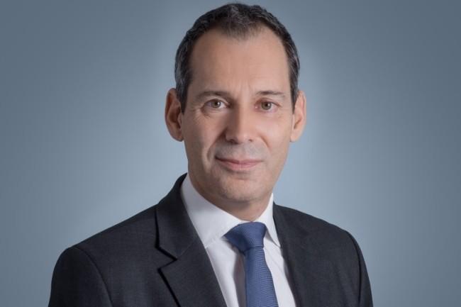 Marc Darmon, directeur g�n�ral adjoint de Thales, a annonc� un partenariat avec Google Cloud pour proposer une offre de confiance aux entreprises et aux administrations. (Cr�dit Photo: Thales)