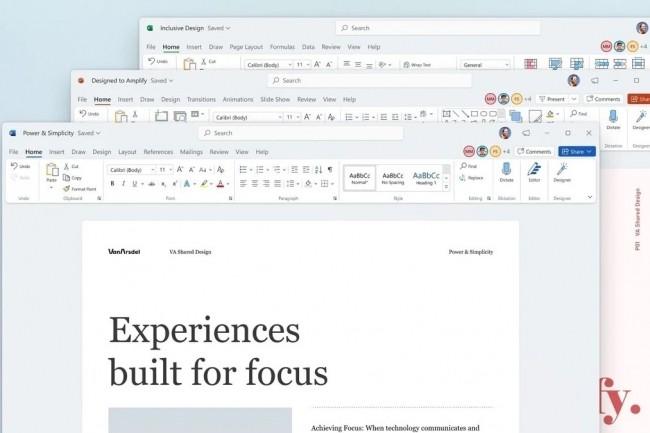 Office 2021 arrive avec une licence perp�tuelle et une mise � jour des fonctionnalit�s. (Cr�dit Microsoft)