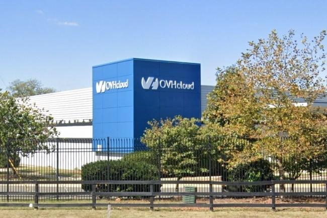 Le datacenter d'OVH de Vint Hill en Virginie (Etats-Unis) est ouvert depuis 2017 et s'�tend sur plus de 25 000 m�tres carr�s. (cr�dit : Google Maps)