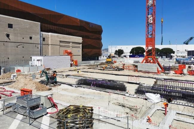 Le site MRS4 d'Interxion � Marseille - ici en mai dernier -  accueillera la r�gion Sud du cloud Oracle. (Cr�dit S.L.)