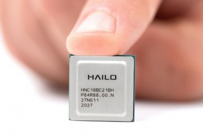 La puce IA Hailo-8 pour �quipements edge peut �tre utilis�e comme processeur ou co-processeur. (Cr�dit : Hailo)