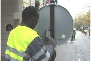 RFID, GPS et 3G pour gérer les panneaux de signalisation à Paris