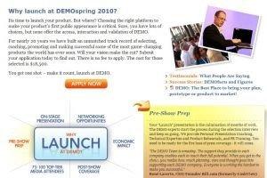 Salon DEMO Spring 2010 : L'innovation � l'heure du cloud