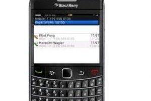 Les Blackberry se préparent à la voix sur IP