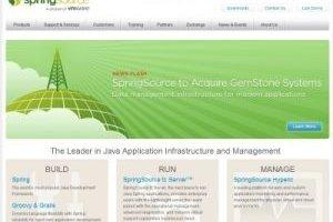 Spring Source, filiale de VMware acquiert Gemstone