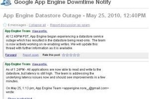 Google App Engine : datastore vacille sous la demande