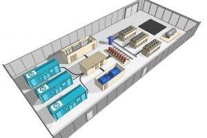 HP s'associe à une filiale d'EDF pour vendre ses conteneurs