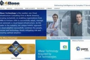 CA Technologies s'offre la firme de consultants cloud 4Base