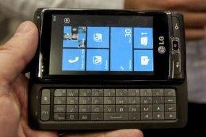 1�re prise en main d'un smartphone Windows Mobile 7