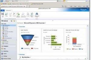 Microsoft met Dynamics CRM 2011 en bêta dans le cloud