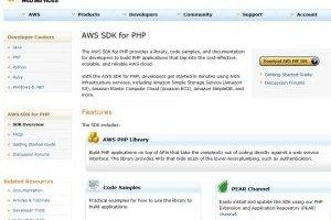 Le cloud d'Amazon soutient le développement PHP