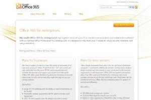 Office 365, Microsoft unifie ses services cloud