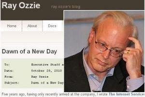 Avant son départ, Ray Ozzie offre un plan sur 5 ans à Microsoft
