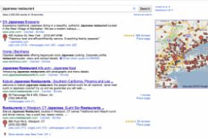 Google rehausse sa recherche locale