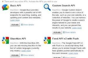 Google lance une console pour g�rer ses API