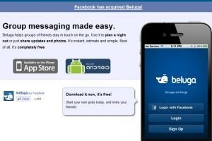 Facebook acquiert Beluga, spécialiste de la messagerie instantanée sur mobile