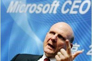 Steve Ballmer annonce Windows 8 pour 2012