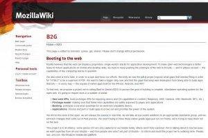 Mozilla veut son OS mobile