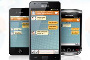 Samsung se lance dans la messagerie instantanée mobile