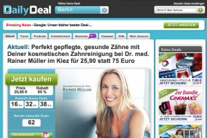 Google se paye DailyDeal pour concurrencer Groupon